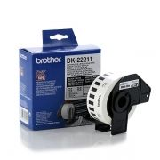 White Continuous Film Tape Brother DK-22211