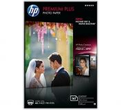 HP Premium Plus Glossy Photo Paper - 50 sht / 10 x 15 cm