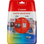 Комплект 2бр. мастилени касети CANON PG-540XL/CL-541XL Photo Value Pack + 50sht. photo paper