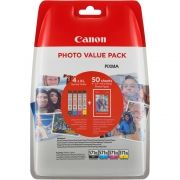 Комплект 4 бр. мастилени касети Canon CLI-571XL Cyan/Magenta/Yellow/Black