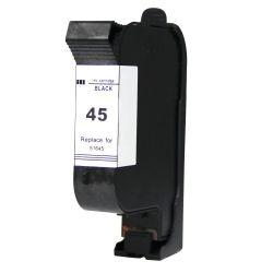 Съвместима мастилена касета HP 45 (51645AE) Black
