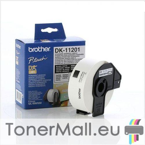Roll Standard Address Labels Brother DK-11201