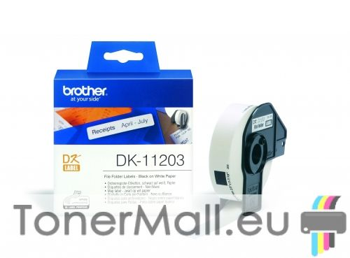 File Folder Labels Brother DK-11203