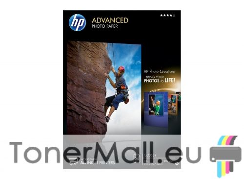 HP Advanced Glossy Photo Paper - 25 sht / A4 / 210 x 297 mm