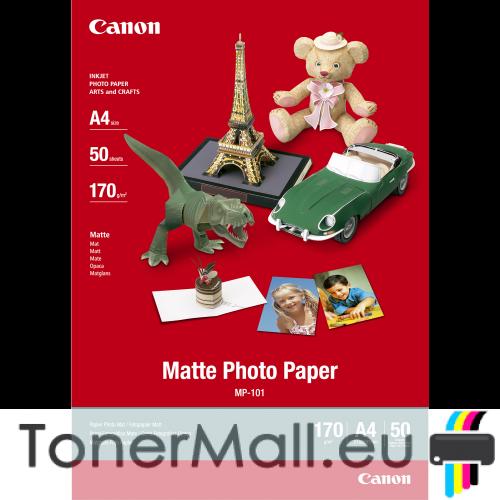 Canon MP-101 A4 Matte Photo Paper