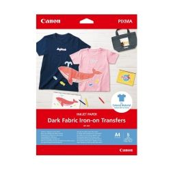 Фотохартия Canon Dark Fabric Iron-on Transfers A4 4006C002AA