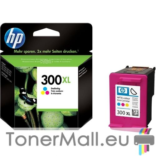 Мастилена касета HP 300XL (CC644EE) Tri-Color