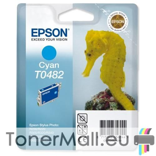 Мастилена касета EPSON T0482 Cyan