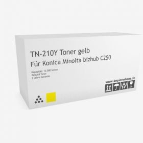 Оригинална тонер касета Konica Minolta TN-210Y (Yellow)
