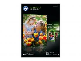 HP Everyday Glossy Photo Paper-25 sht/A4/210 x 297 mm (Q5451A)