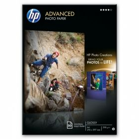 HP Advanced Glossy Photo Paper-50 sht/A4/210 x 297 mm (Q8698A)