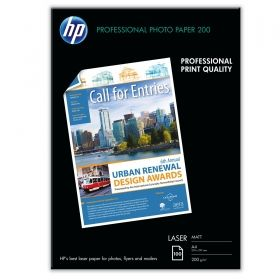 HP Professional Matt Laser Photo Paper - 100 sht/A4/210 x 297 mm (Q6550A)