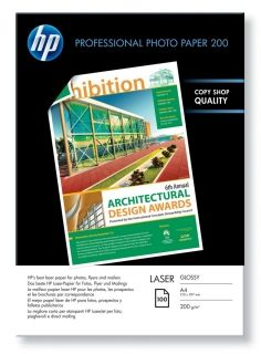 HP Professional Glossy Laser Photo Paper - 100 sht/A4/210 x 297 mm (CG966A)