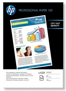 HP Professional Glossy Laser Paper - 250 sht/A4/210 x 297 mm