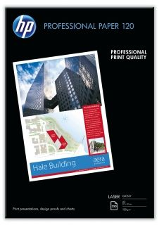 HP Professional Glossy Laser Paper 120 gsm - 250 sht/A3/297 x 420 mm (CG969A)