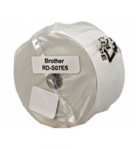 White Paper Label Roll Brother RD-S07E5