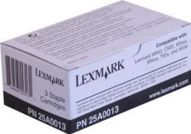 Staples 3-pack Lexmark 25A0013