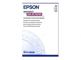 Фотохартия EPSON C13S041068 Photo Quality Ink Jet Paper, DIN A3, 102g/m2 (100 sheets)