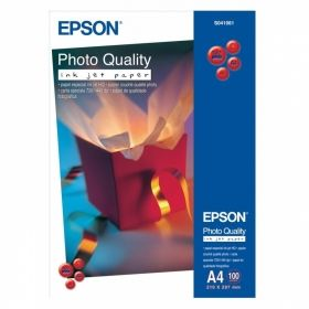 Фотохартия EPSON C13S041061 Photo Quality Ink Jet Paper, A4, 102 g/m2, 100 sht