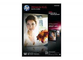HP Premium Plus Semi-gloss Photo Paper - 20 sht / A4 / 210 x 297 mm