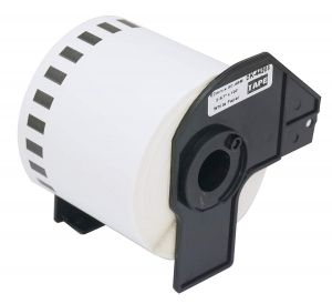 White Removable Paper Tape Brother DK-44205