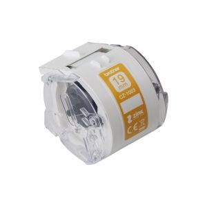 Continuous Paper Tape Brother CZ-1003 (Full colour, Ink-free 19mm)