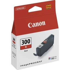 Мастилена касета CANON PFI-300R Red