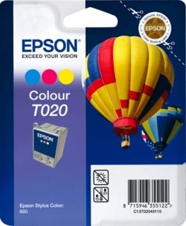 Мастилена касета EPSON T020 3 color